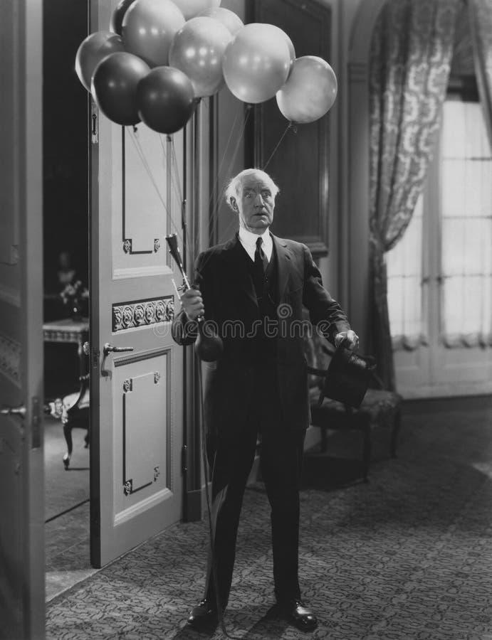 Urodzinowa niespodzianka obrazy royalty free