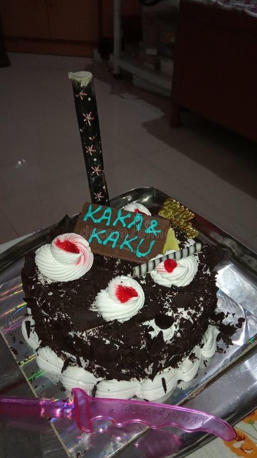 urodzinowego torta ?wi?towania jedzenia przyj?cia cukierki fotografia royalty free