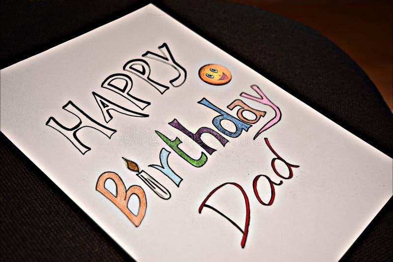 Urodzinowi życzenia fotografia stock