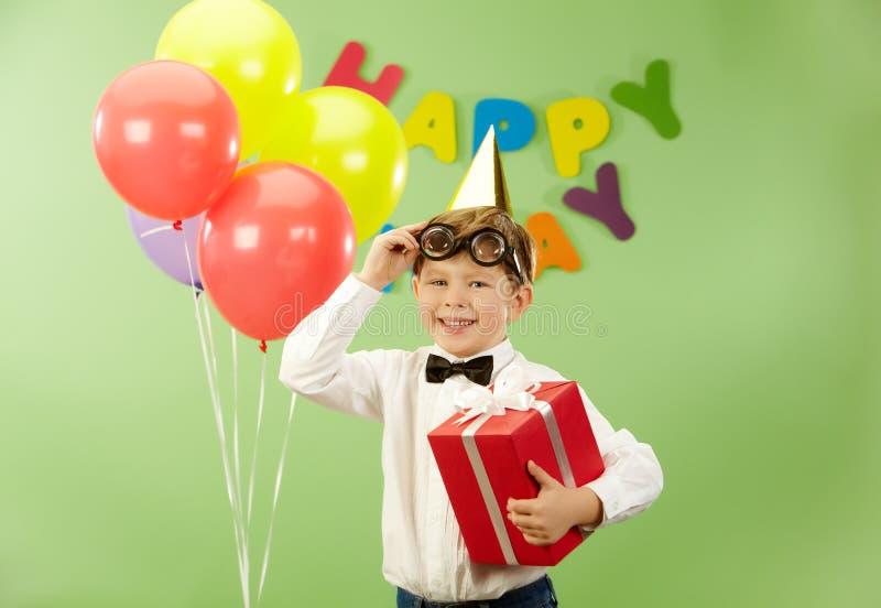 urodzinowy nastrój obraz royalty free
