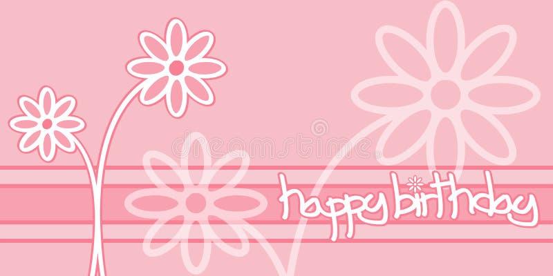 urodziny szczęśliwy ilustracja wektor