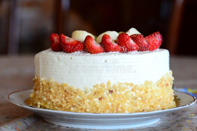 Urodziny tort zdjęcia royalty free