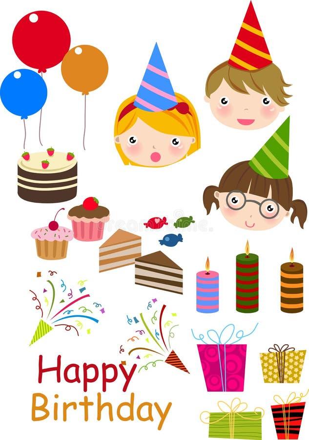 urodziny ty potrzeby przyjęcie ty ilustracji