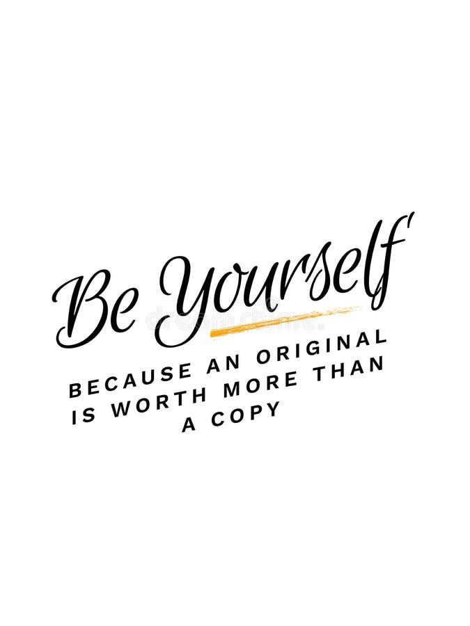 Urodzony być princess typografii sloganu wektorowym projektem dla t koszulowego druku, broderia, apparelsBe Yourself Ponieważ ory royalty ilustracja