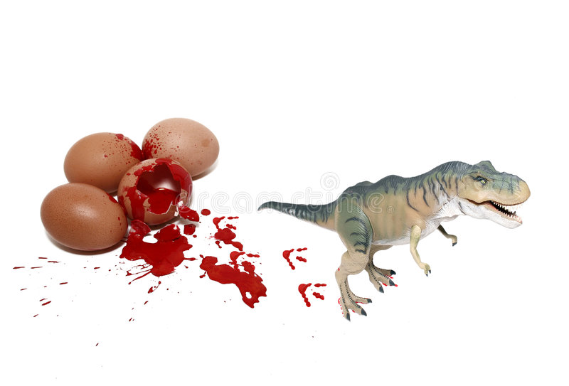 urodzony nowego t rex zdjęcie royalty free