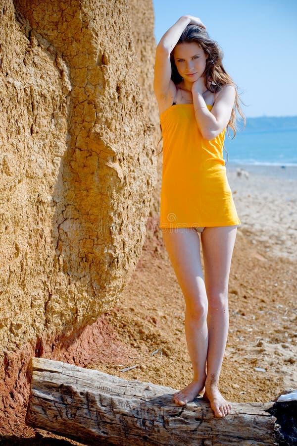 urok na plaży zdjęcie royalty free