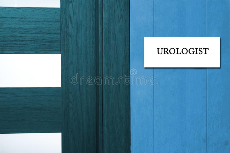 Urologist stock image