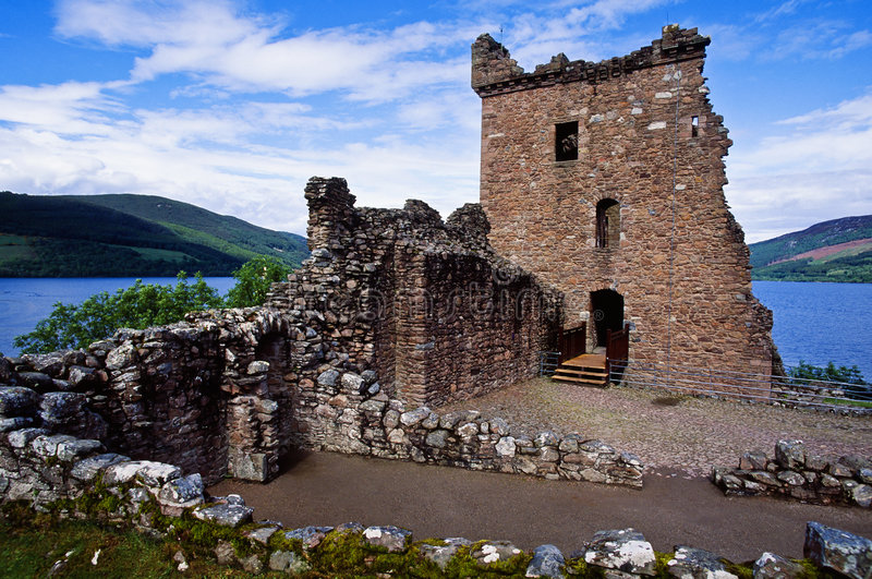 Download Urquhart Castle stock photo. Image of horizon, fortress - 3023968