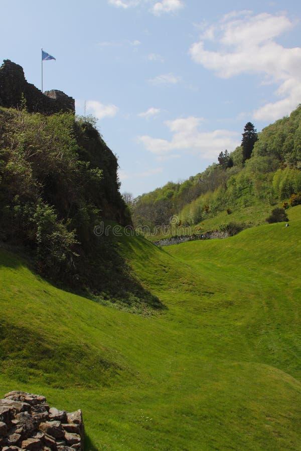 Download Urquhart Moat stock photo. Image of landscape, exterior - 15611752
