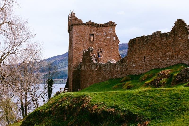 Urquhart slott arkivfoton