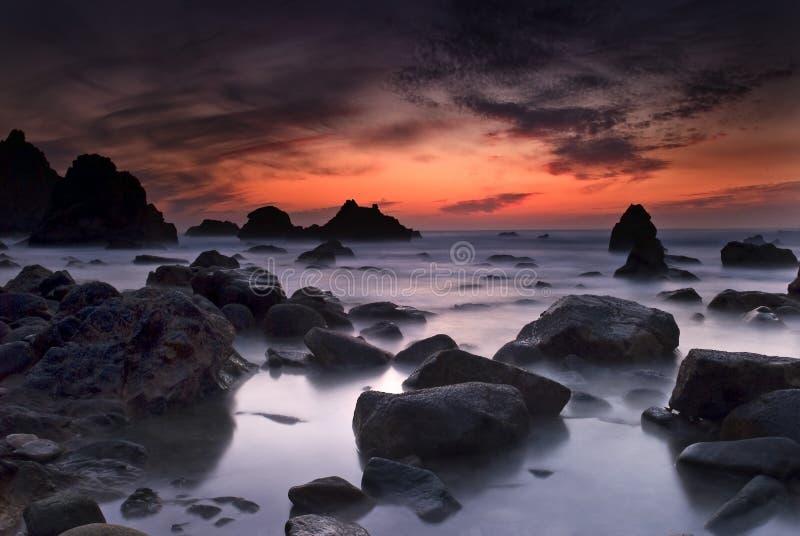 Download Ursa beach stock photo. Image of rock, portugal, light - 7749854