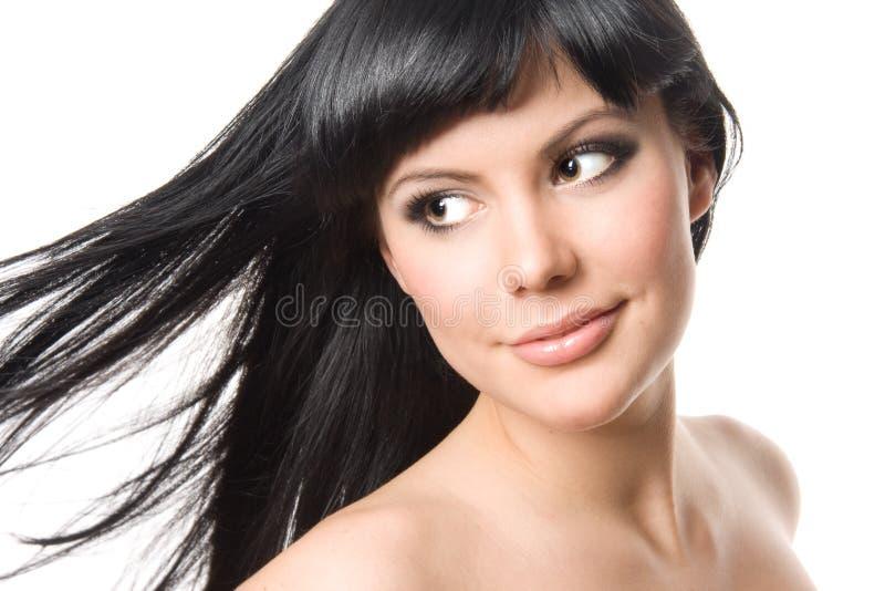 ursnygg kvinna för brunett royaltyfria foton