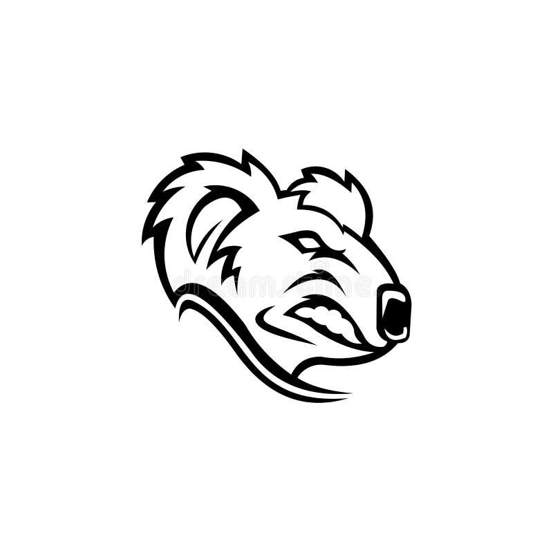 Urso bonitinho Koala, vetor ilustração royalty free