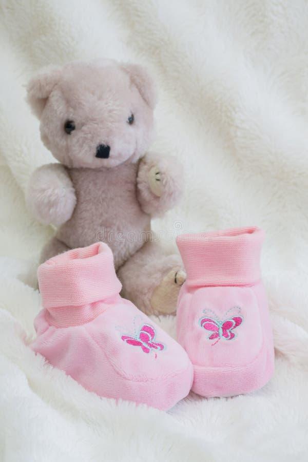 Urso da peluche com amor imagens de stock royalty free