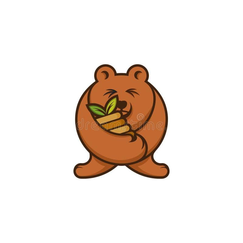 Urso de mel da peluche fotografia de stock royalty free