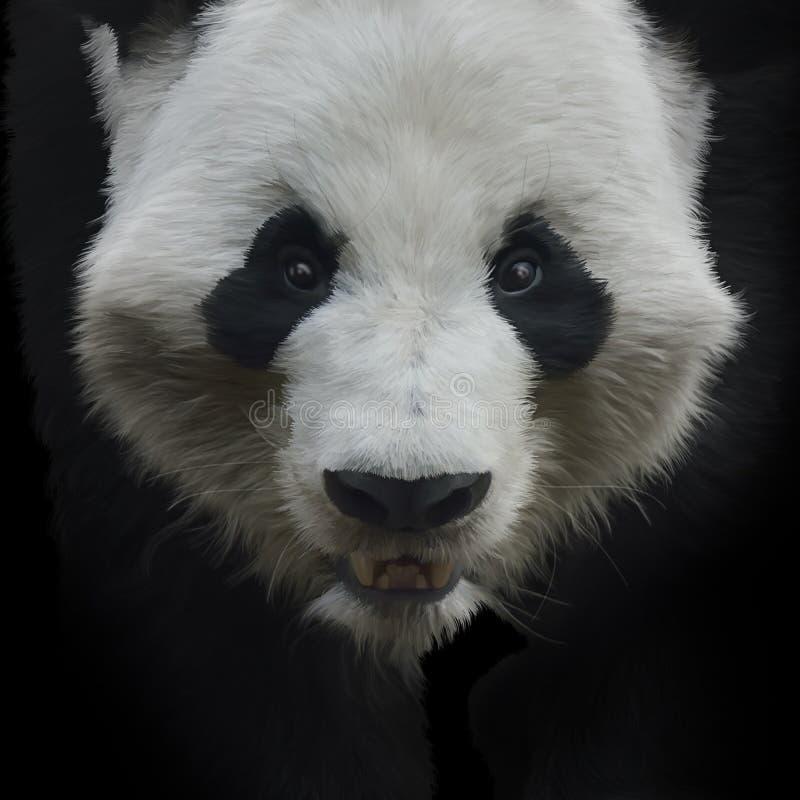 Download Urso de panda gigante ilustração stock. Ilustração de animal - 65580339