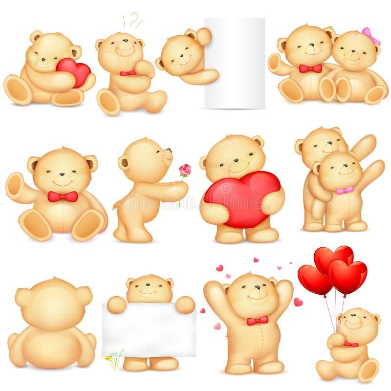 Urso de peluche ilustração stock