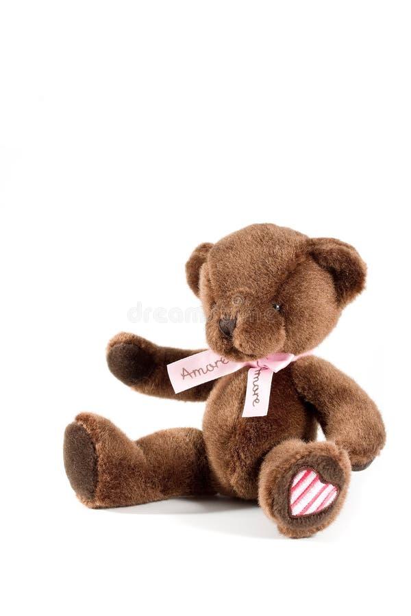 Urso de peluche de Brown imagem de stock