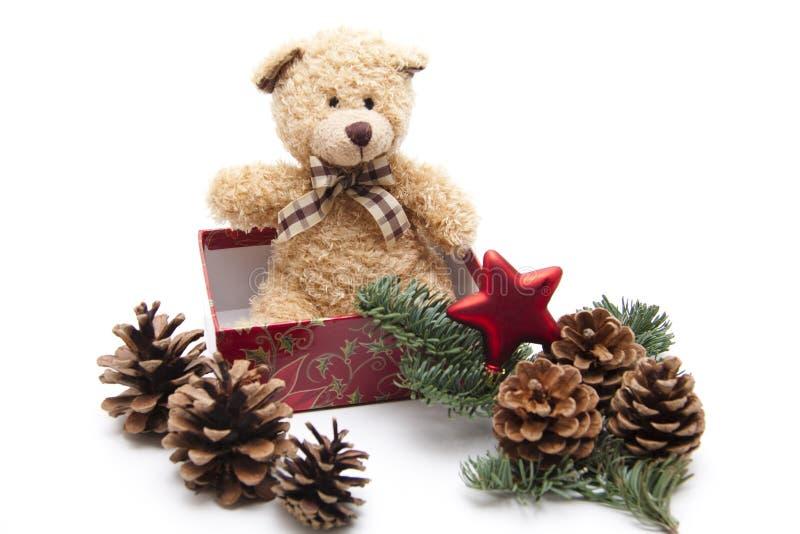 Urso do luxuoso com laço imagem de stock royalty free