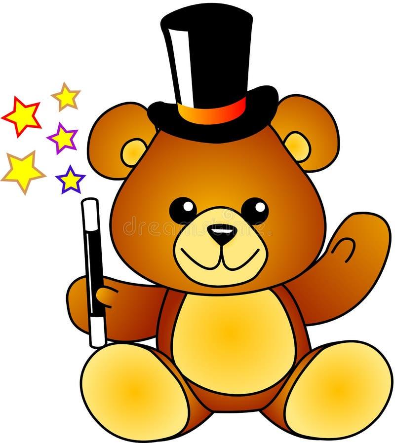 Urso do mágico ilustração do vetor