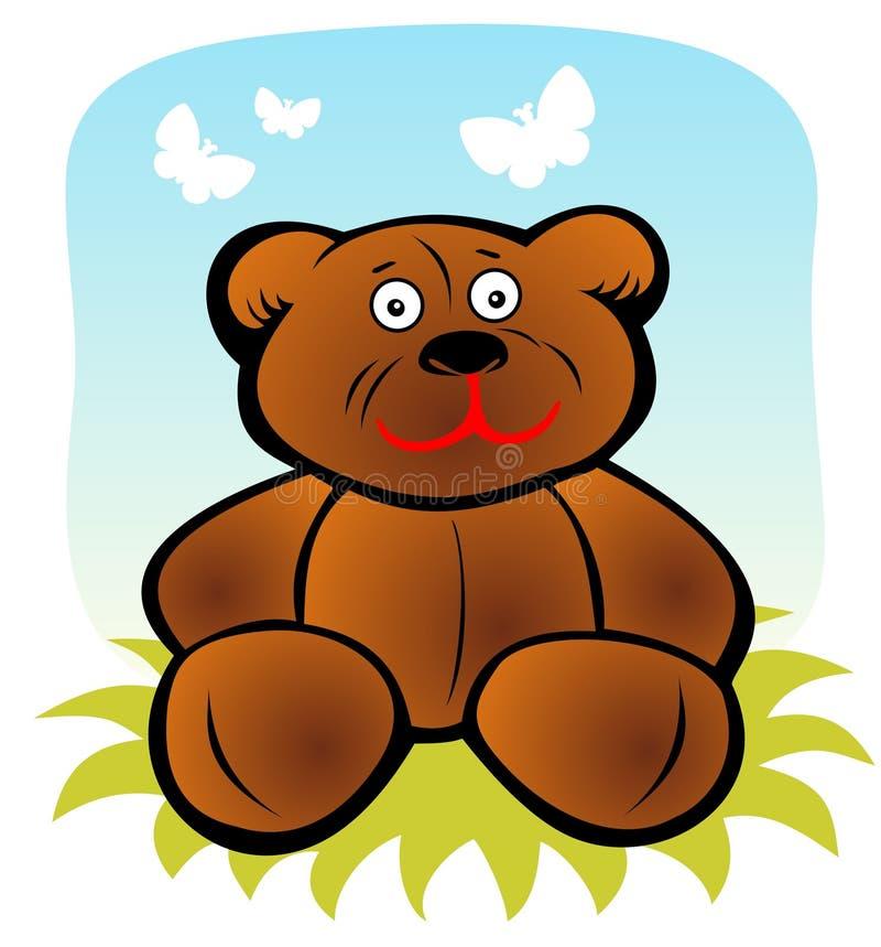 Urso dos desenhos animados ilustração do vetor