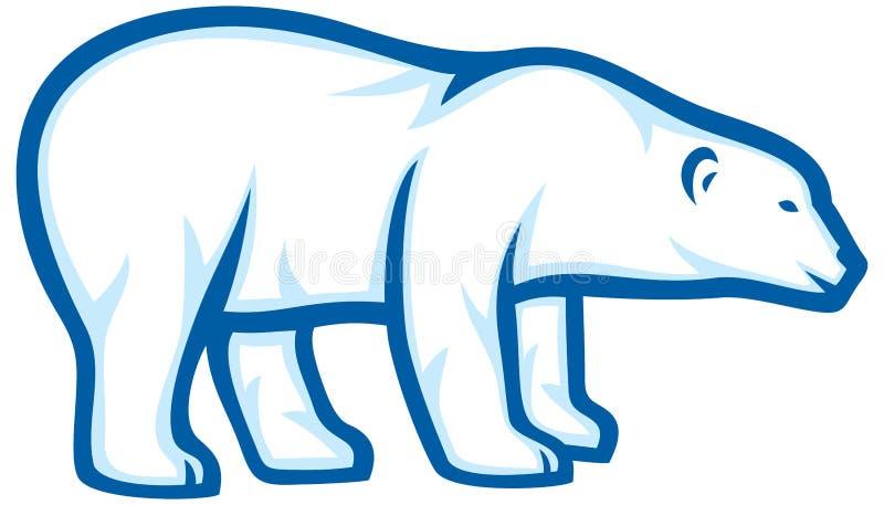 Urso polar ilustração royalty free