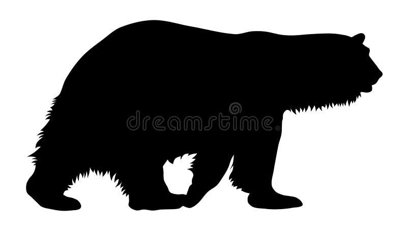 Urso polar ilustração stock