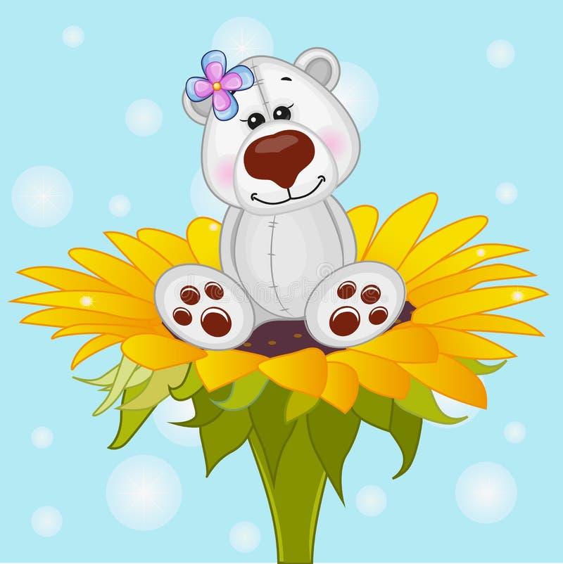 Urso polar do artoon do ¡ de Ð ilustração royalty free
