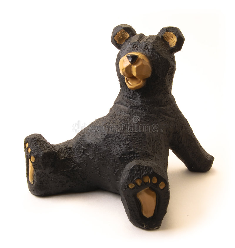 Urso reclinado fotografia de stock
