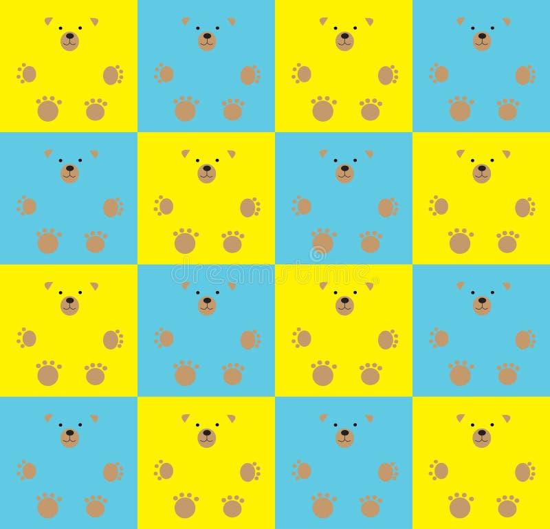 ursos de peluche ilustração do vetor