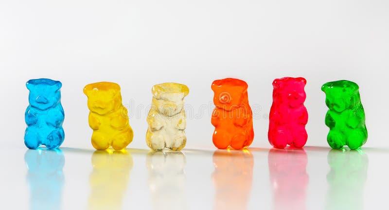 Ursos gomosos imagens de stock
