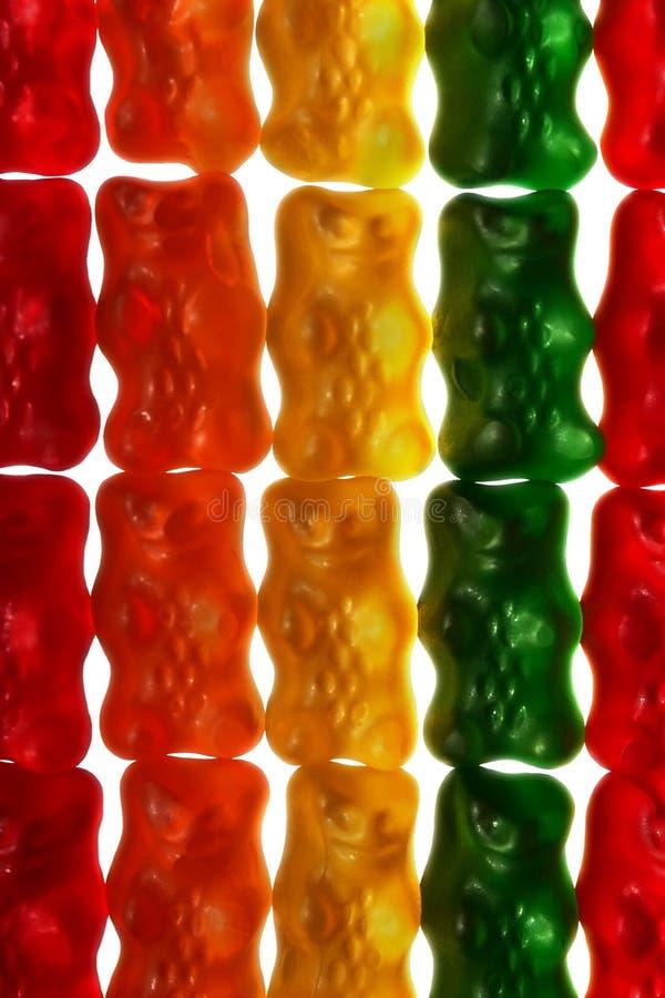Ursos gomosos imagem de stock royalty free