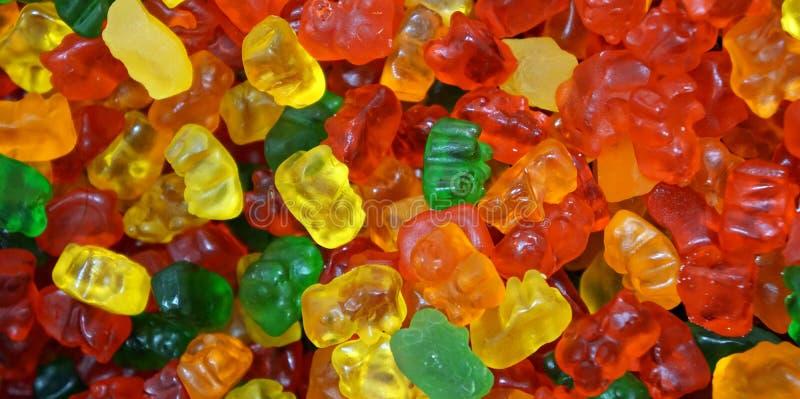 Ursos gomosos da multi cor imagens de stock royalty free