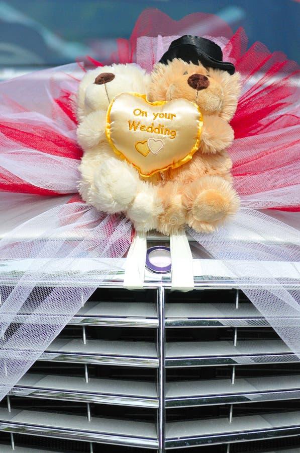 Ursos Wedding imagem de stock
