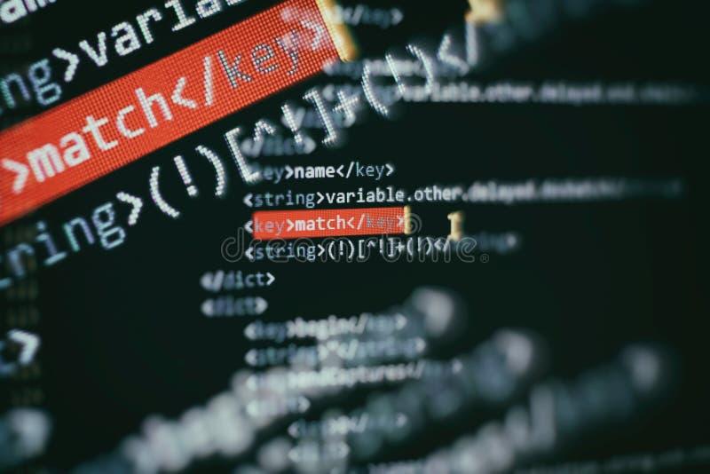 Ursprüngliche Formulierung des Datenverarbeitungsproblems zu den ausführbaren Computerprogrammen wie Analyse, sich Entwickeln, Al lizenzfreies stockbild
