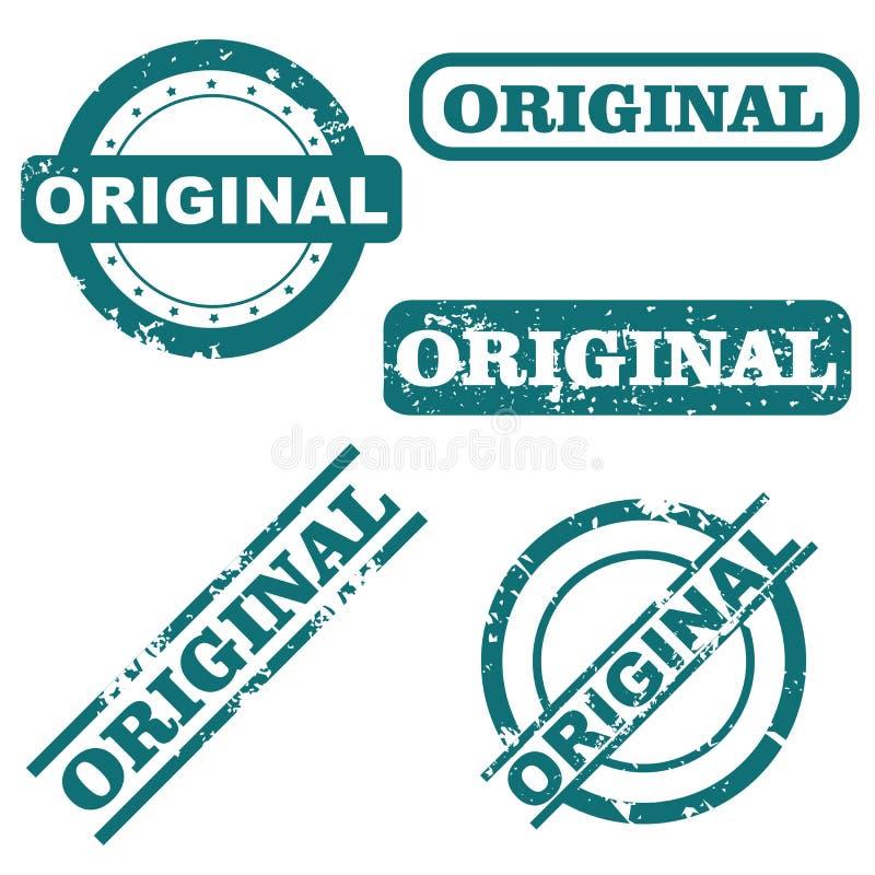 Ursprüngliche Stempel lizenzfreie abbildung