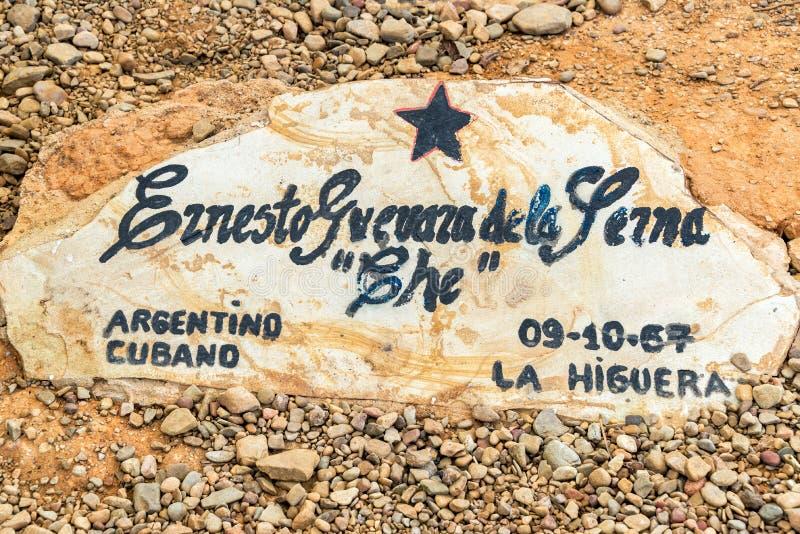 Ursprüngliches Grab von Ernesto Che Guevara stockfotografie