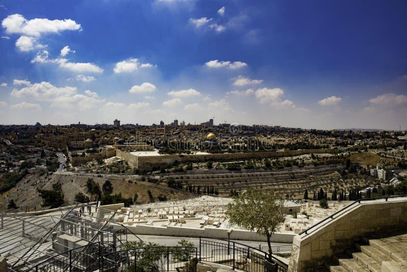 Ursprüngliches Tageslicht Jerusalems lizenzfreie stockbilder