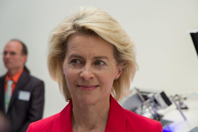 Ursula von der Leyen immagine stock