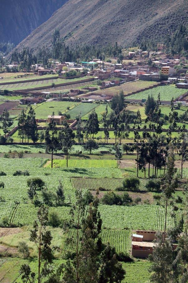 Urubamba dal Peru arkivbilder