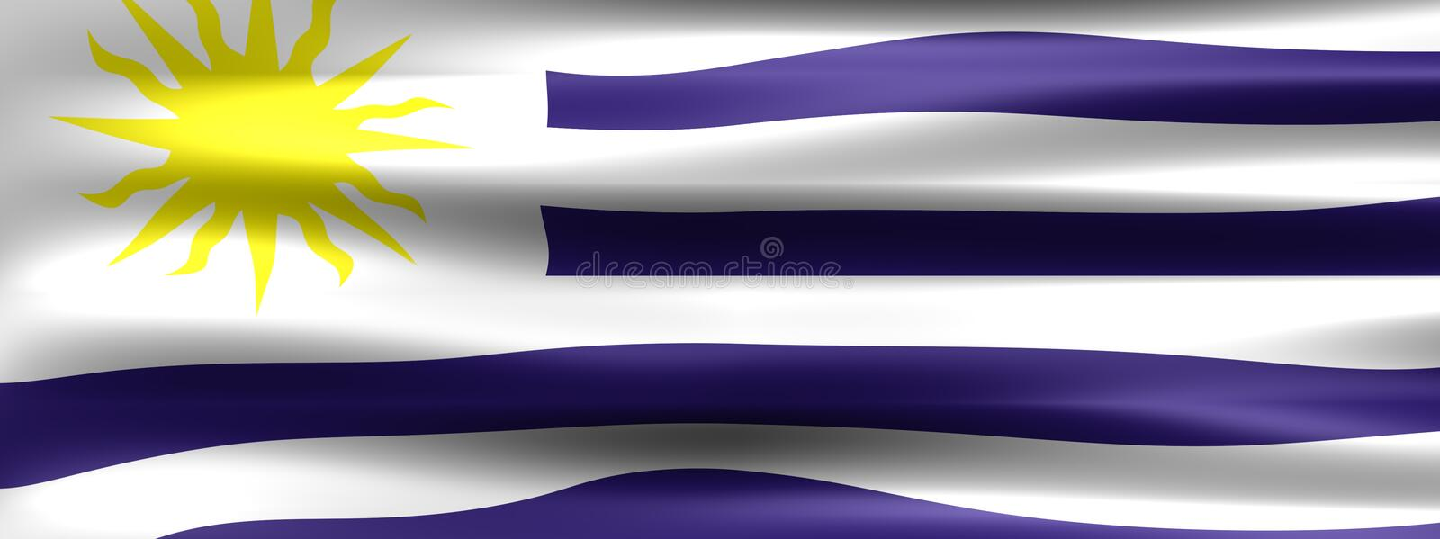 uruguay royaltyfri illustrationer
