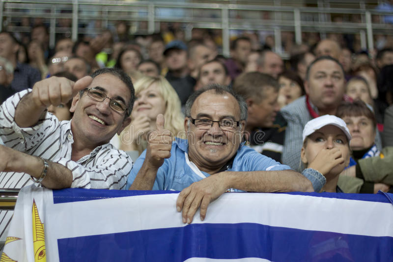 Download Uruguay Fans Editorial Stock Image - Image: 21022519