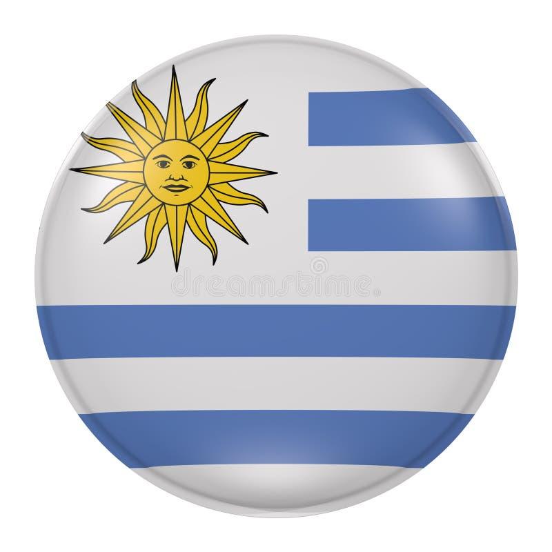 Uruguay knapp stock illustrationer