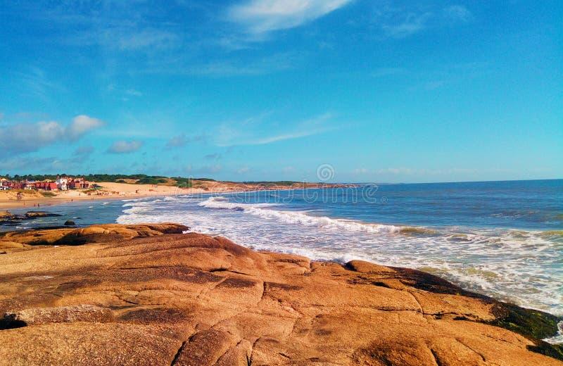 Uruguayan golven stock fotografie