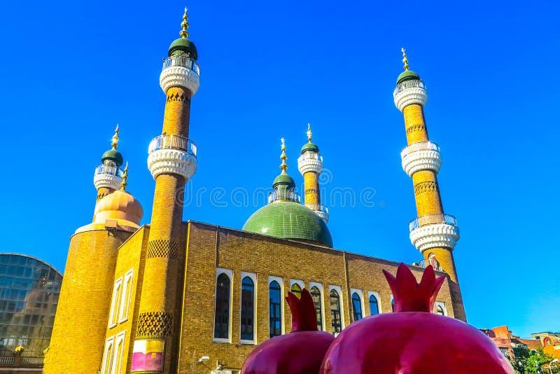 Urumqi Grote Bazaar 04 stock fotografie