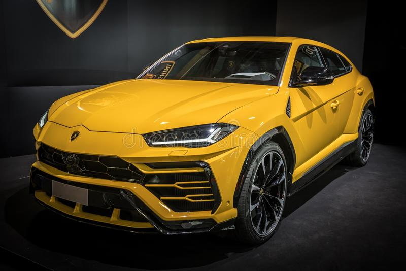Urus de Lamborghini photographie stock