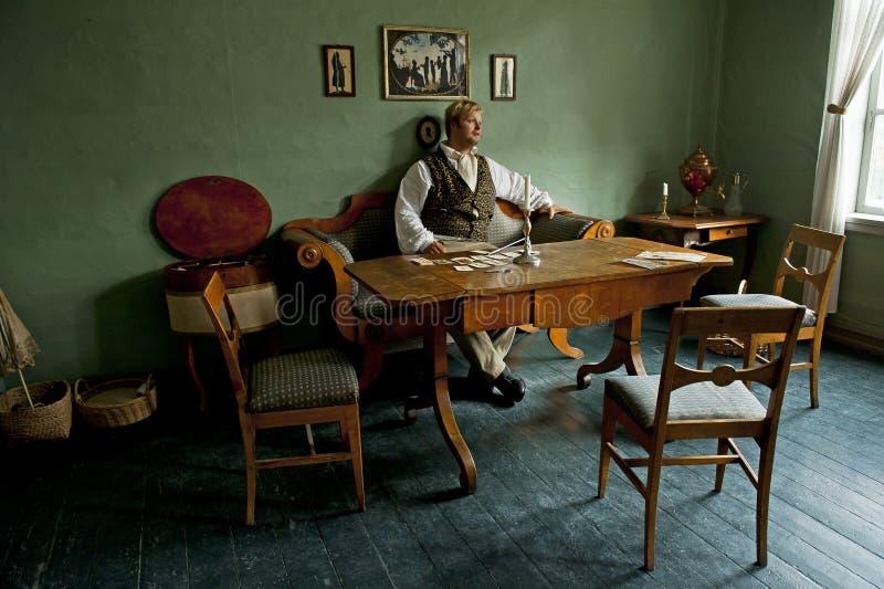 Urzędnik siedziba w Gamle Bergen muzeum zdjęcia royalty free