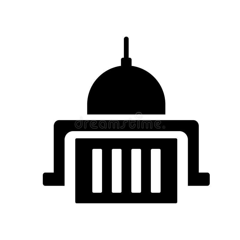 urząd federalny ikona  ilustracji