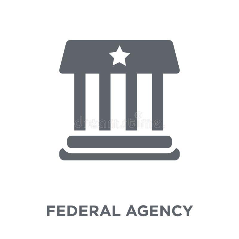 urząd federalny ikona od wojsko kolekcji ilustracja wektor