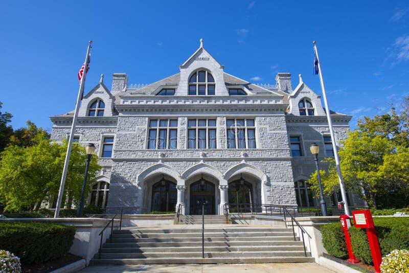 Urząd Legislacyjny New Hampshire, Concord, NH, Stany Zjednoczone Ameryki obrazy royalty free